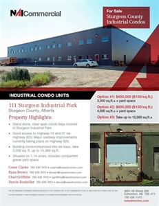 111 Sturgeon Industrial Park