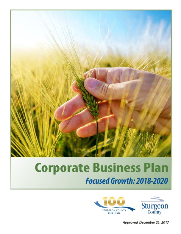 Sturgeon County Corporate Business Plan