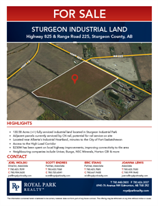 Highway 825 & Range Road 225, Sturgeon Industrial Park (SIP)